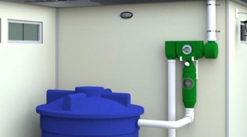 Coletas de água da Chuva Sustentabilidade Santana - Coleta de água da Chuva