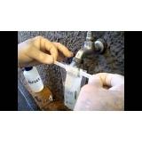 análise água potável laudo valores Gurupi