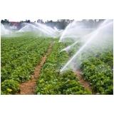 análise de água irrigação Alto Paraíso
