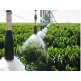 análise de água para irrigação Posse