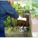 análise de água potável para consumo humano Salgueiro