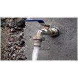 análise físico química da água potável Januária