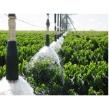 análise técnica de água para irrigação Niquelandia