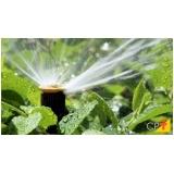 análises de água irrigação Minas Gerais