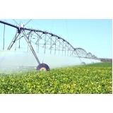 análise água irrigação