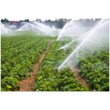 análise da água para irrigação