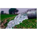 análise de água de irrigação