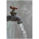 análise da água potável