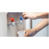 laudo de análise de água potável