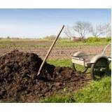 análise de fertilizante orgânico